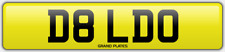 RUDE CHEEKY NUMBER PLATE D8 LDO FUNNY FUN ADULT CAR REGISTRATION DILDO SEXY TOY