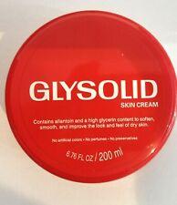 Glysolid Skin Cream 200ml 6.76 oz Jar