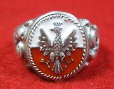 Polish Ring military Poland 1939 Polen Eagle Legions Pilsudski  ww1 WWI WWI WW2