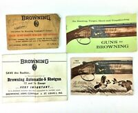 1963 Browning Automatic-5 Shotgun Instruction Booklet & Original Paperwork