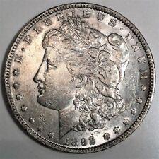 1892 Morgan Silver Dollar Beautiful High Grade Coin Rare Date