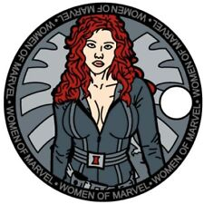 Black Widow Pathtag Coin Women of Marvel Comics Series Only 100 Sets Made!