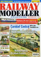 RAILWAY MODELLER magazine Sept 2010 Hornby Bachmann Heljan Dapol Coaches VGC