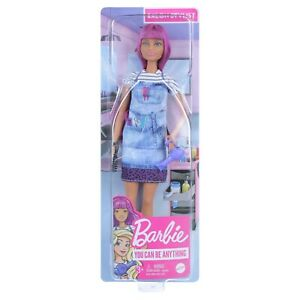 Barbie You Can Be - A Salon Stylist/Hairdresser. Brand New Boxed Doll, NRFB.