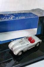 AUTO ART 1/43 - JAGUAR C TYPE SILVER