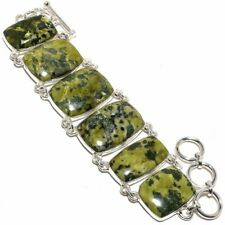 "Gogunjula Gemstone Handmade 925 Sterling Silver Bracelet 6-9"""