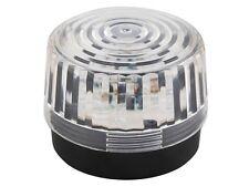 LAMPE GYROPHARE ECLAIRAGE STROBOSCOPE FLASH BLANC 12V ø 100mm 10cm A 15 LED