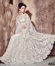 Indian wedding wear bridal saree designer bollywood sari pakistani blouse sarees