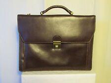 cartable vintage KATANA cuir marron