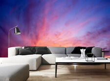 3D Amazing Cloud Landscape Self-adhesive Living Room Wallpaper Wall Murals