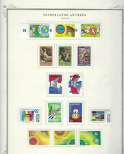NETHERLANDS ANTILLES...#437-451...Mint H & NH...1979/80...15 Diff Commemoratives