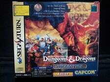 Sega Saturn Dungeons and Dragons Collection 4MB RAM Pack set  Boxed JPimport F/S