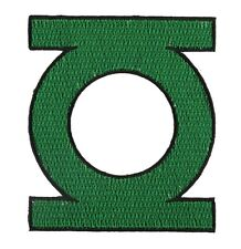 """DC Comics 3.5"""" Classic Green Lantern Logo Embroidered Iron-On Patch P-DC 0016 NW"""
