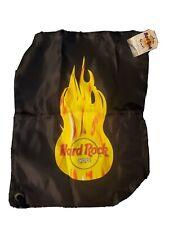 Hard Rock Cafe Cinch Sack Drawstring Bag, New!