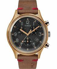 MK1 Steel Chronograph 42mm Leather Strap Watch TW2R96300VQ