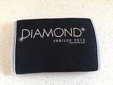 Tupperware Logo Award Diamond Jubilee 2013 Insulated Sleeve Koozie Black New