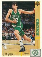 Kevin McHale 1991-92 Upper Deck #225 Boston Celtics basketball card