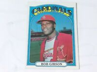 1972 Topps Bob Gibson #130 baseball card