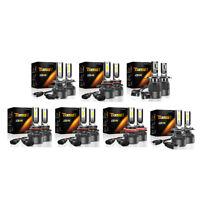TXVSO8 LED Bombillas para Faro Delantero, 2 Piezas 100W 6000K 15000 L9S8
