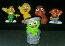 Hasbro Sesame Street Mr Snuffleupagus Oscar Bert Erie Big Bird 2010 Cake Topper