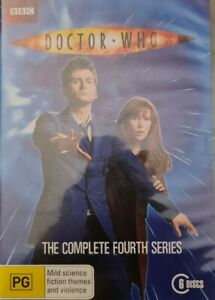 Doctor Who The Complete Fourth Series 4 Season Four Box Set DVD Region 4