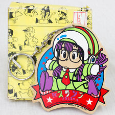 Retro Dr. Slump Arale chan SSSP Costume Wooden Mascot Key Chain JAPAN ANIME