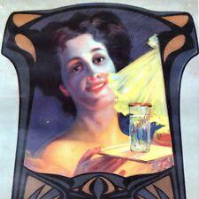 REKLAME IN GÖPPINGEN Altes Plakat Ausstellung 1993 STORCHEN Jugendstil L. KÜBLER