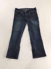 American Eagle Womens Jeans size 4 Artist Crop Capris Stretch Medium Wash