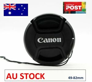 Camera Lens Cap - 49, 52, 55, 58, 62, 67, 72, 77, 82mm Replacement for Canon