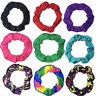 NEW Shiny Mystique Gymnastics and Dance Ballet Hair Scrunchie Skating Hairband