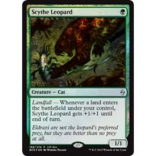 * Foil * MTG Scythe Leopard NM - Battle for Zendikar (Gift Box Promo)