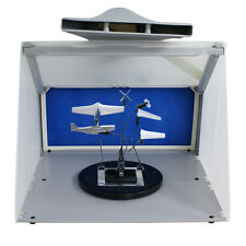 Portable Hobby Airbrush Spray Booth with LED Light & 5FT Exhaust Extension Hose