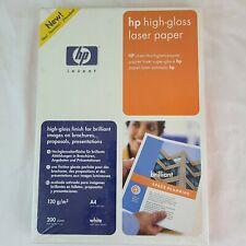 NEW - hp high-gloss laser paper A4 (8.5 X 11)
