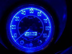 Citroen 2CV 2 CV 540 T10 MES 5 LED Dash Instrument Blue SMD Bulb Upgrade x2