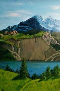Original Hand painted acrylic painting (gift idea)