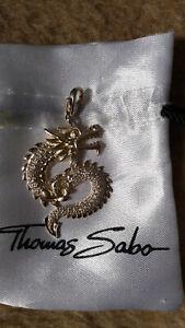 Thomas Sabo Anhänger Drachen Groß Zirkonia