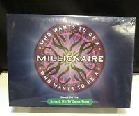 NEW - Who Wants To Be A Millionaire Family Board Game 2000 TV Show