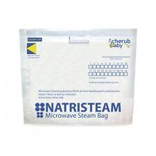 Cherub Baby Natristeam Microwave Steam Steriliser Bags 6 pack