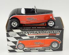 HARLEY-DAVIDSON 1934 FORD STREET ROD 1:25 SCALE DIE-CAST BANK (MODEL 97899-97V)