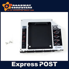 "MacBook Pro Unibody 13"" 15"" 17"" A1278 A1286 A1297 DVD Rom to SATA SSD Adapter"