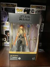 Star Wars The Black Series 6 Inch IN HAND Target Exclusive Jar Jar Binks