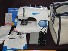 Singer Featherweight II Sewing Machine, Model 117, Smooth & Quiet, Manual, Acces