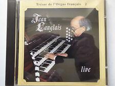 JEAN LANGLAIS <>  Jean Langlais Live - St. Augustin, Wien  <> NM (CD)