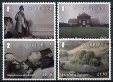 St Helena People Stamps 2021 MNH Death of Napoleon Bonaparte Exile 4v Set