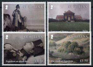 St Helena People Stamps 2021 MNH Death of Napoleon Bonaparte Exile 4v Set
