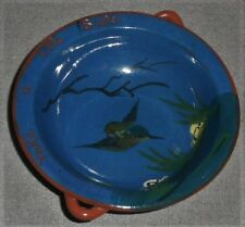 Torquay Pottery TAKE A LITTLE BUTTER Double Handed Bowl/Dish MADE IN ENGLAND