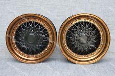 "16"" RS Bronze Alloy Wheels Fits Bmw e21 e30 Chevrolet aveo corsa lanos 4x100"