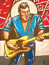 BRUCE SPRINGSTEEN PRINT poster e street band live new york cd fender telecaster