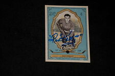 HOF RED KELLY 2009-10 UD CHAMPS SIGNED AUTOGRAPHED CARD #38 RED WINGS