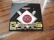 NY New York Yankees Hideki MATSUI rising sun crossed bats pin